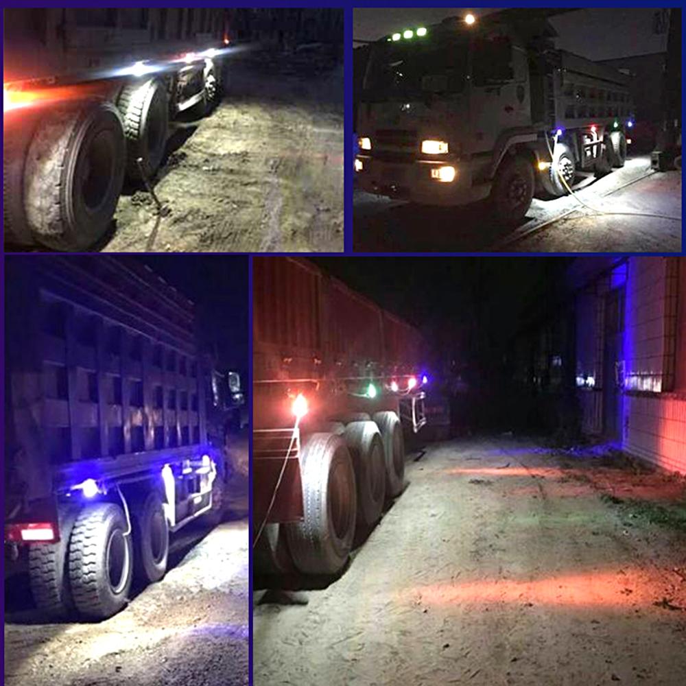 дополнительные фары на грузовик