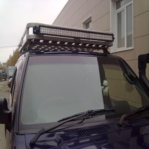 светодиодная балка на авто