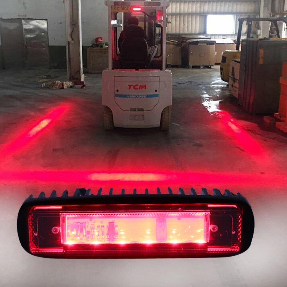 Маркерные фонари визуальной системы безопасности (линия) – Красная Опасная Зона