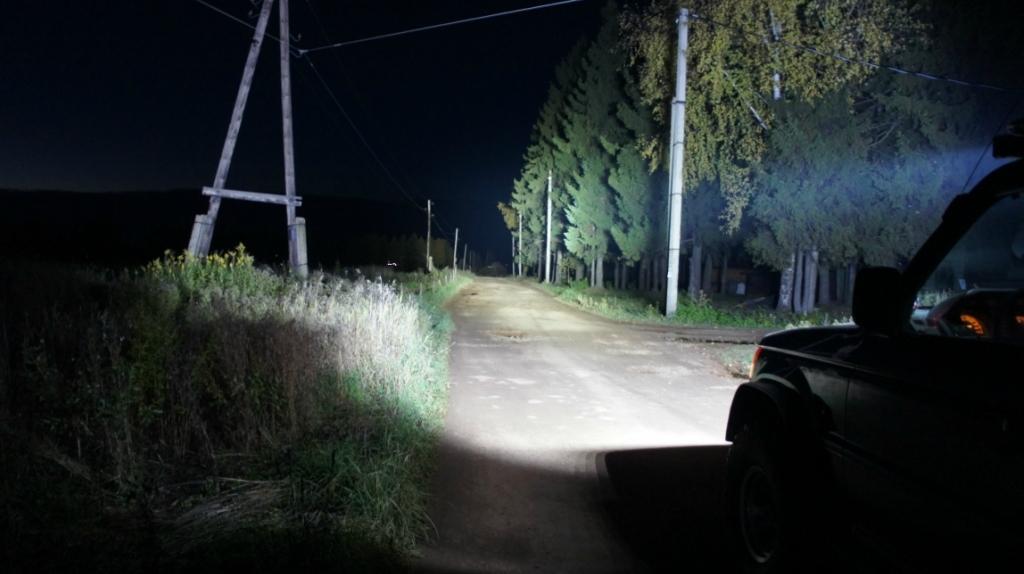 LED балка ближнего света