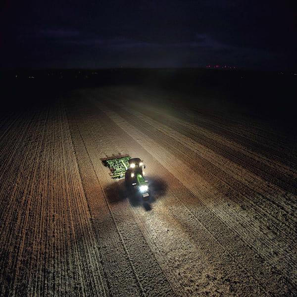 фара рабочего света на трактор погрузчик